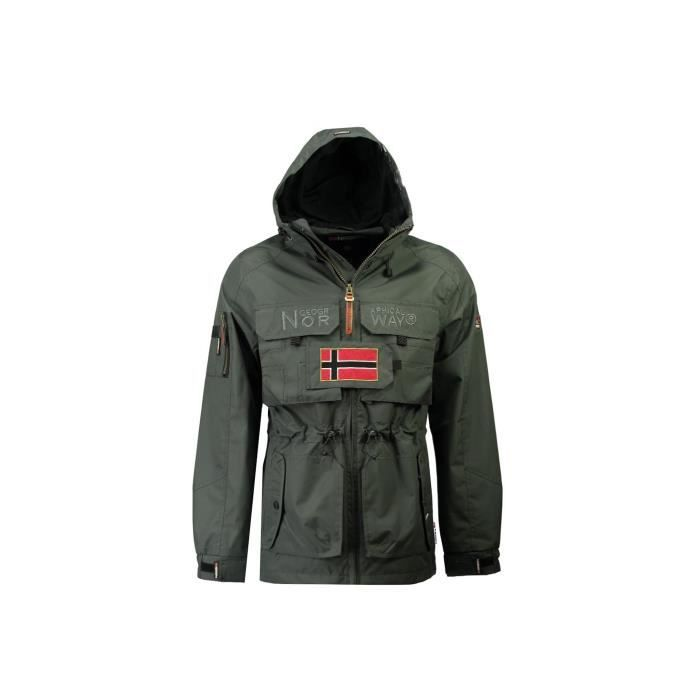 Veste Homme Geographical Norway Butcher Gris