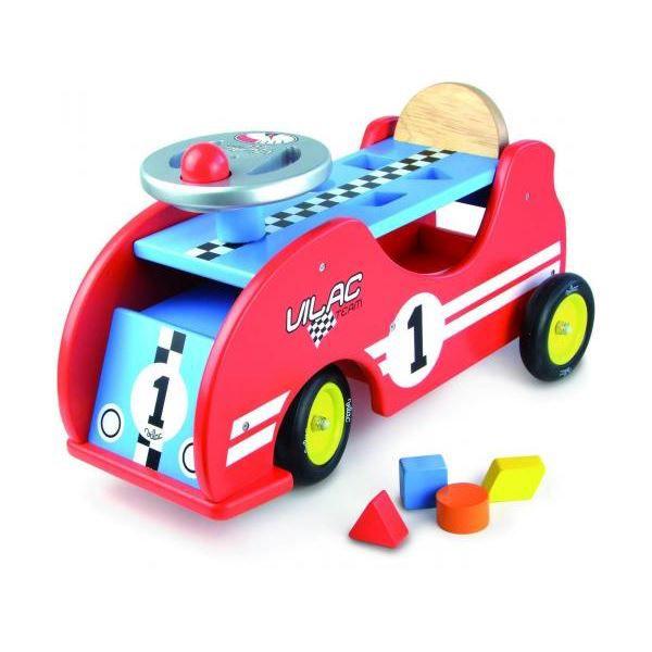 Vilac - 1020 - Porteur voiture de course