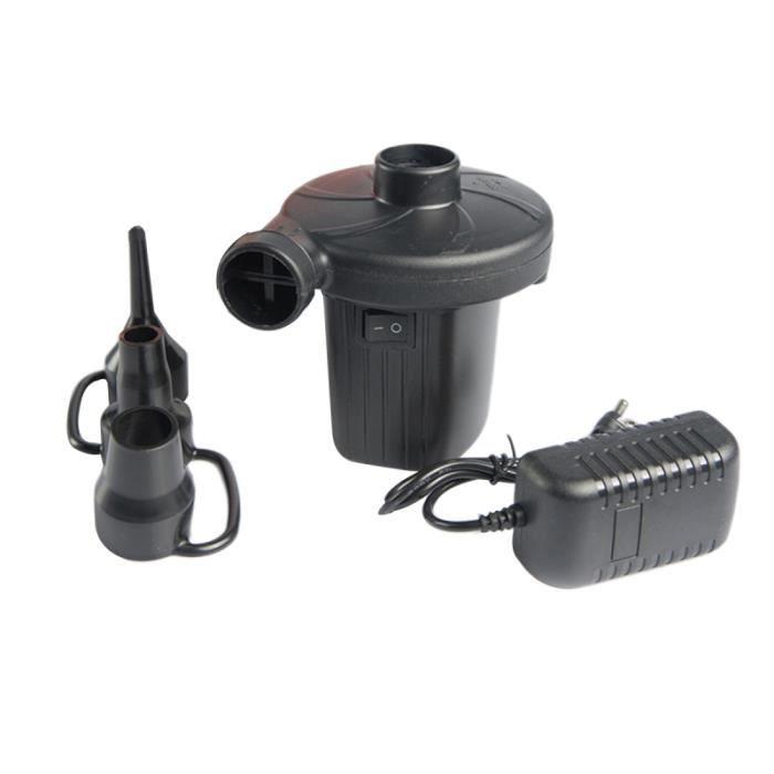 Electric Portable Pompe à Air Pour Pneumatiques Air Matelas lit bateau pompe UE Plug W