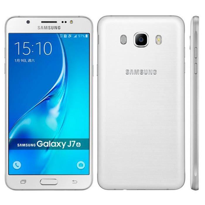 SMARTPHONE Blanc Samsung Galaxy J7 (2016) J7108 16GB occasion