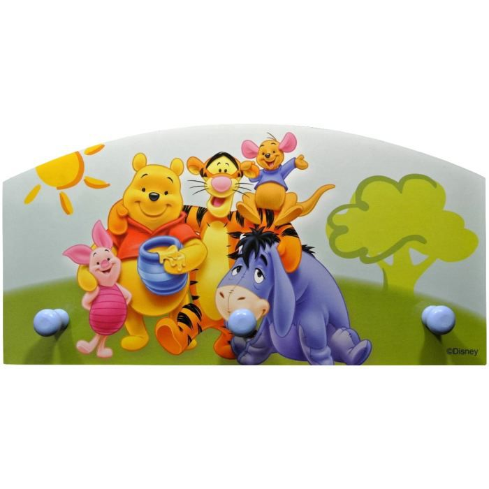 pat re porte manteau enfant disney winnie l 39 our achat vente porte manteau pat re cdiscount. Black Bedroom Furniture Sets. Home Design Ideas