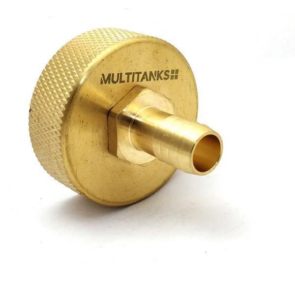 Multitanks Raccord S60x6 embout male filet/é 1 pouce tout en laiton 1