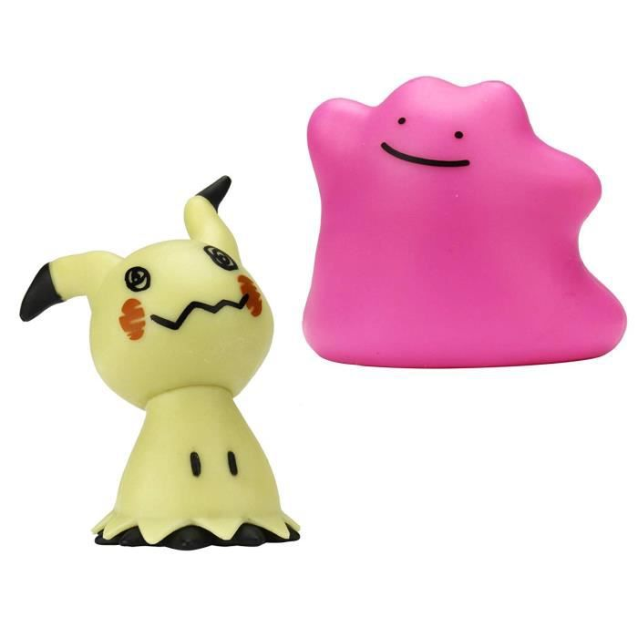 POKEMON - Pack de 2 figurines 3-5 POKEMON - Pack de 2 figurines ...
