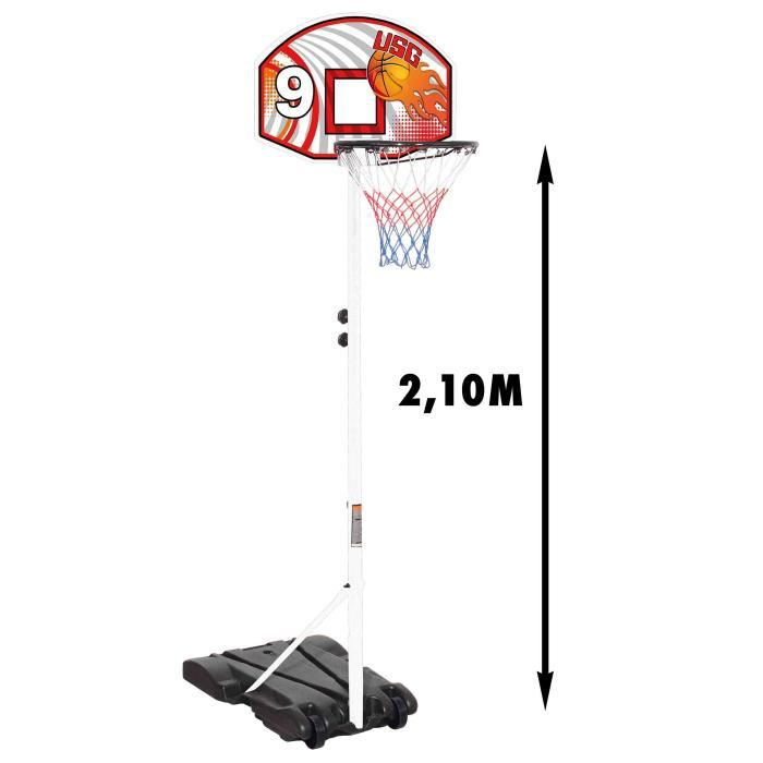 panneau de basket mural nba de sport and fun. Black Bedroom Furniture Sets. Home Design Ideas