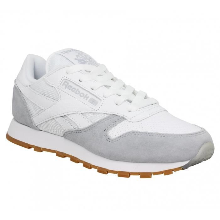 Chaussures Reebok grises femme