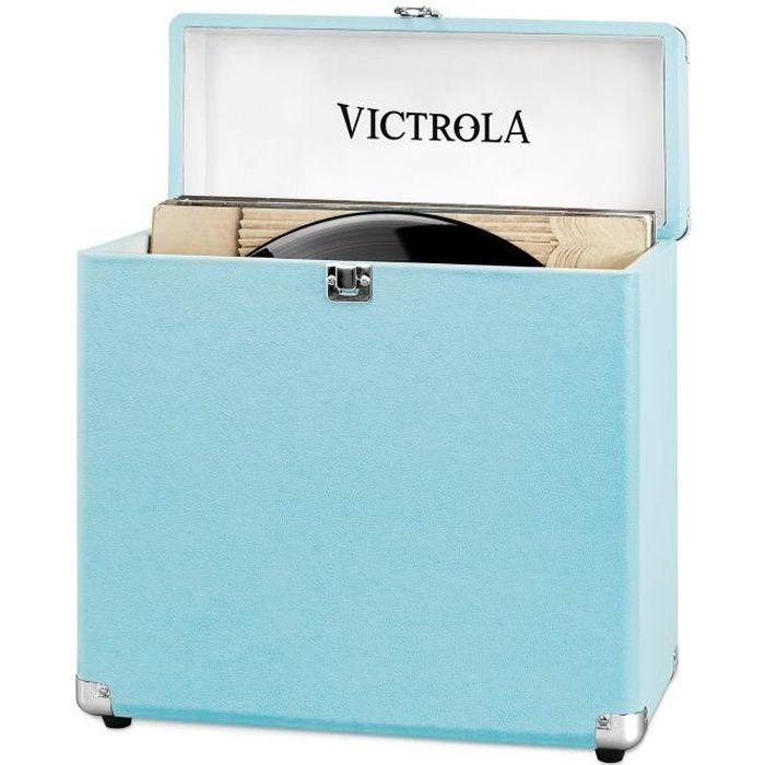 Victrola Caisse Retro Turquoise Platine Vinyle Avis Et Prix Pas Cher Cdiscount