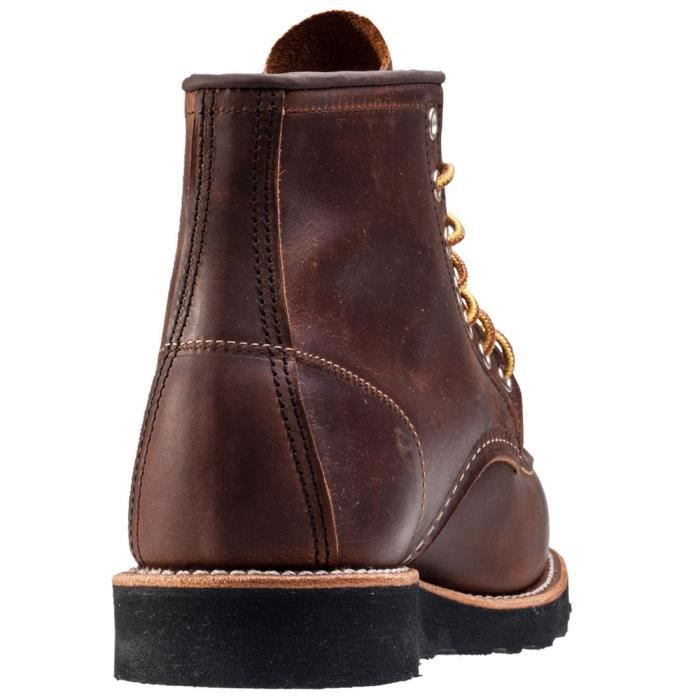 Red Wing 6-inch Moc Toe Hommes Bottes Copper - 11 UK