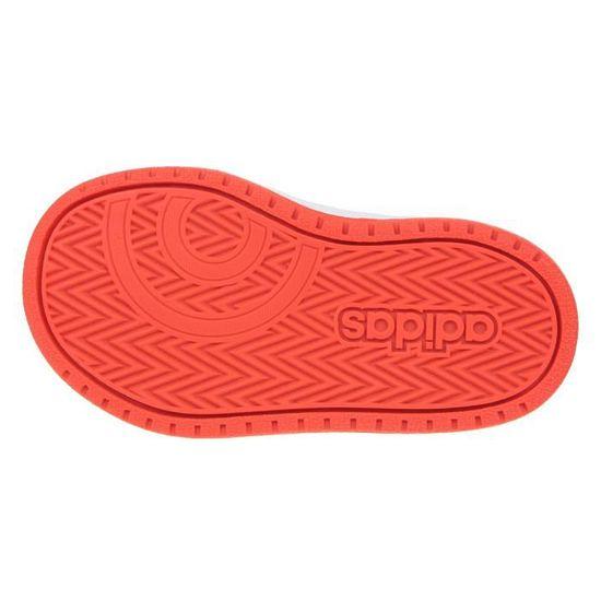 ADIDAS Baskets Hoops 2.0 Cmf I - Bébé garçon - Noir et rouge