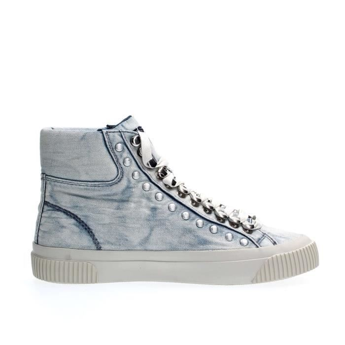DIESEL SNEAKERS Femme DENIM LIGHT BLUE, 39
