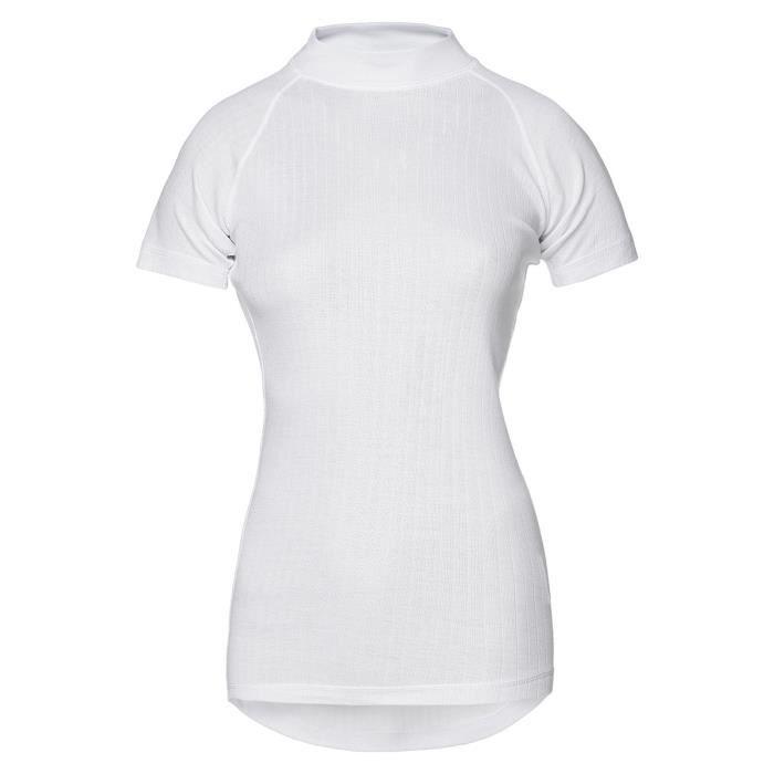 AVENTO Sous-vêtement thermique Manches Courtes - Femme - blanc - 36