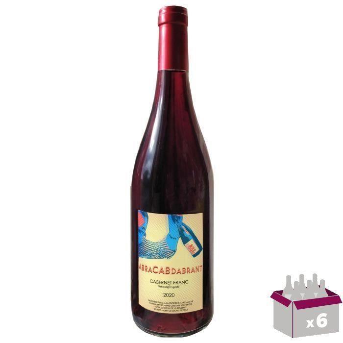 2ème à -50% - Abracadabrant - Château de la Roulerie 2020 Anjou - Vin rouge de la Loire