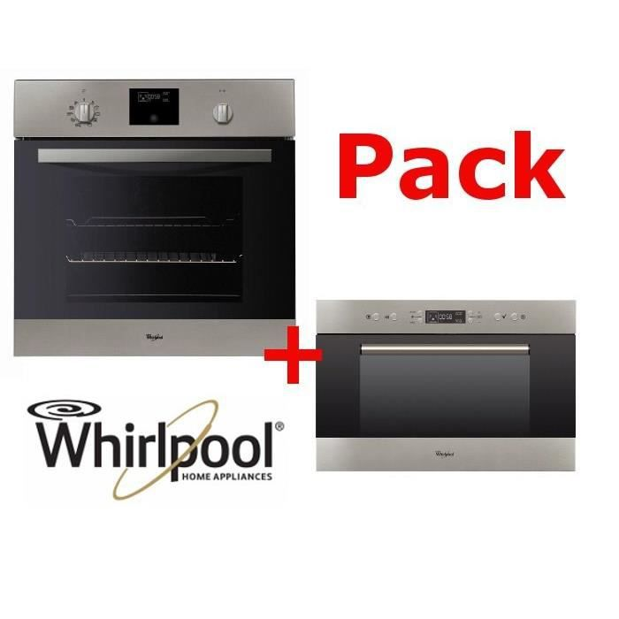 Pack cuisson WIRLPOOL : four + micro-ondes