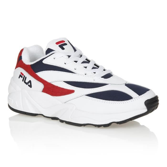 FILA Baskets Fila 94 - Homme - Bleu Marine et Blanc