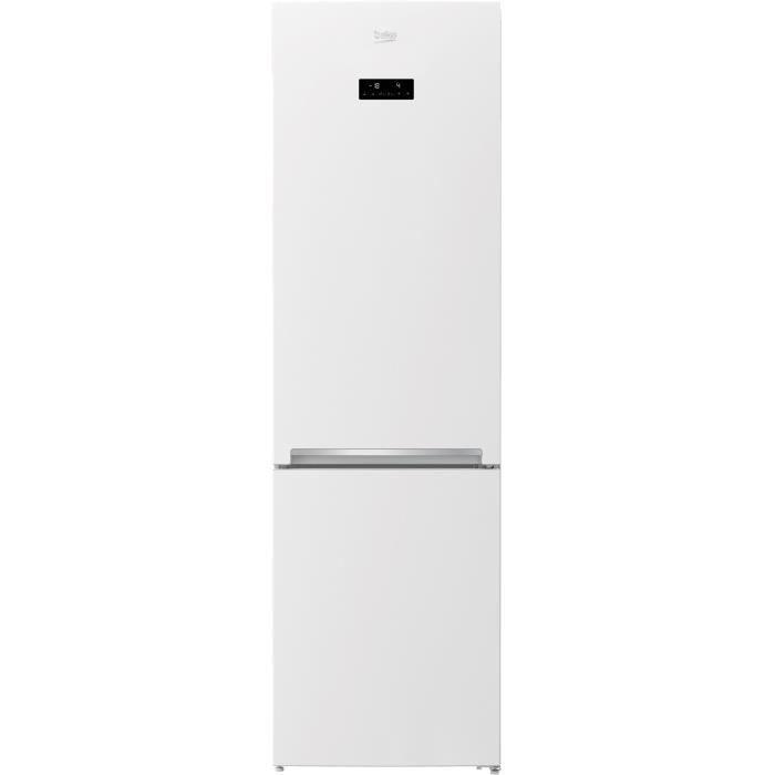BEKO DRCNA321E20W - Refrigérateur congélateur bas - 321L (231L + 90L) - Froid total no frost - A+ - L59,5 x H 201 cm - Blanc