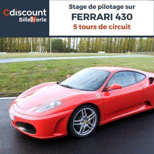 Loisirs Stage pilotage sur Ferrari 430 - 5 tours
