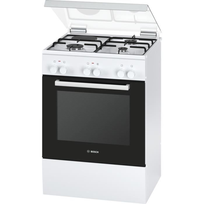 bosch hgd72d120f cuisini re table mixte gaz lectrique 4 foyers 4200w four lectrique. Black Bedroom Furniture Sets. Home Design Ideas