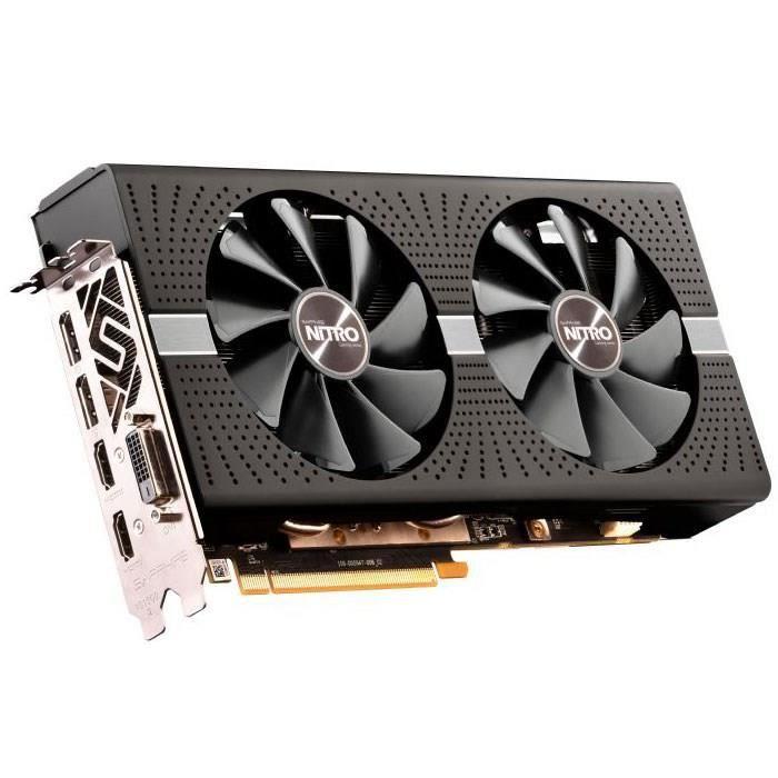 CARTE GRAPHIQUE INTERNE Sapphire Radeon RX 590 8 Go - Nitro+  GDDR5 (11289