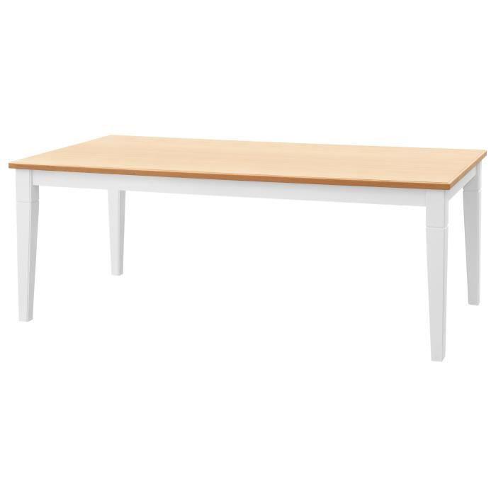 TABLE À MANGER SEULE CISA Table à manger de 8 à 10 personnes style cont