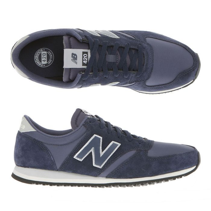new balance baskets 420 homme homme indigo marine achat vente new balance 420 homme pas cher. Black Bedroom Furniture Sets. Home Design Ideas