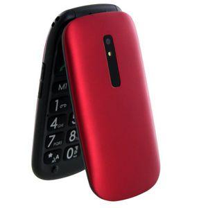 Téléphone fixe TELEFUNKEN TM220 COSI Red