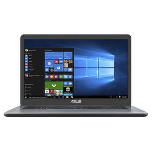 Achat discount PC Portable  Ordinateur portable ASUS F705BA-BX020T 17'' HD+  - AMD A6 9225 - RAM 4Go - stockage 1To + 128Go SSD - Windows 10