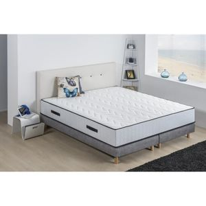 ENSEMBLE LITERIE DEKO DREAM Ensemble matelas 180x200 + sommiers 2 x