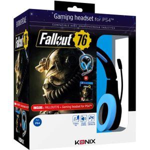 PACK ACCESSOIRE Casque PS-400 + Fallout 76 sur PS4