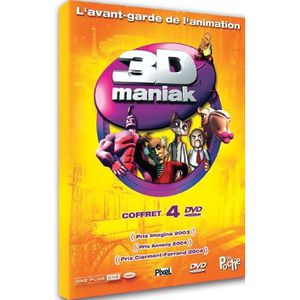 DVD DESSIN ANIMÉ DVD Coffret 3d maniak