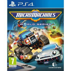 JEU PS4 Micro Machines : World Series Jeu PS4