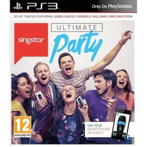 JEU PS3 SingStar: Ultimate Party Jeu PS3