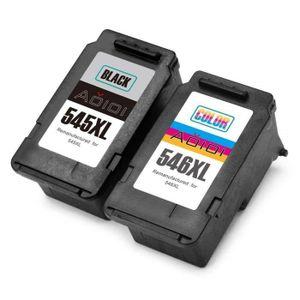 CARTOUCHE IMPRIMANTE Cartouches Canon PG-545XL CL-546XL d'encre Compati