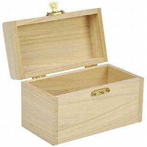 COFFRE - MALLE Coffre au trésor Coffre au trésor en bois pour la