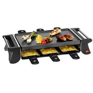 raclette 6 personnes achat vente raclette 6 personnes pas cher cdiscount. Black Bedroom Furniture Sets. Home Design Ideas