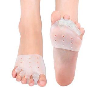 SOIN MAINS ET PIEDS Séparateurs d'orteils en gel et correcteur d'oigno