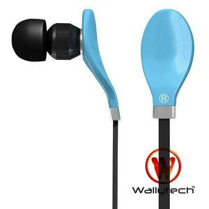 couteurs intra auriculaires bleu wallytech casque. Black Bedroom Furniture Sets. Home Design Ideas