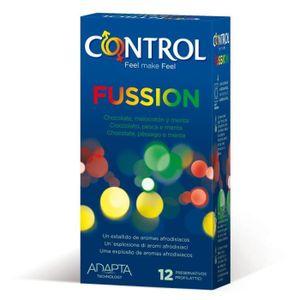 PRÉSERVATIF Préservatifs saveur Fussion 12 pièces