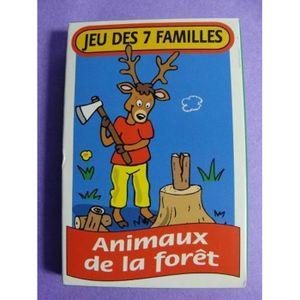 CARTES DE JEU Jeu de cartes des 7 familles