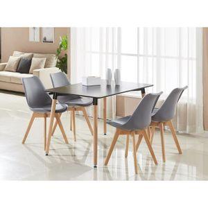 TABLE À MANGER COMPLÈTE Ensemble Salle à Manger Moderne Lorenzo - Table No