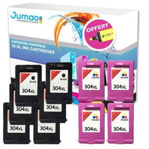 TONER 10 Cartouches compatibles pour HP DeskJet 2620, No