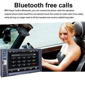 PACK CAR AUDIO 6.6 pouce Lecteur De Voiture MP3/MP4/MP5 FM Stéréo