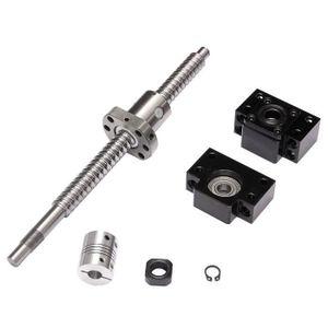 VIS - CACHE-VIS ss-33-SFU1605 Vis à billes 250mm + Coupleur 6.35x1