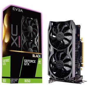 CARTE GRAPHIQUE INTERNE EVGA GeForce GTX 1650 XC Ultra Black, 4096 MB GDDR