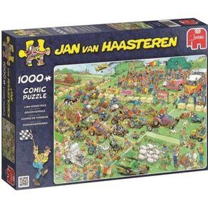 PUZZLE Puzzle 1000 Pièces - COURSE DE TONDEUSE - Jan van
