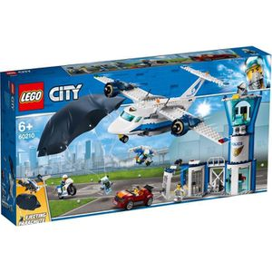 ASSEMBLAGE CONSTRUCTION LEGO® City 60210 La base aérienne de la police