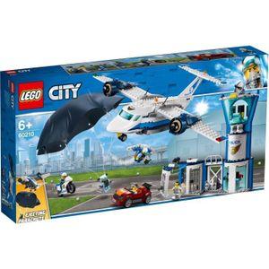 ASSEMBLAGE CONSTRUCTION LEGO® City 60210 La base aérienne de la police - J