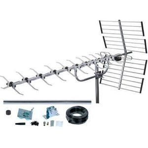 ANTENNE RATEAU SLx 27985K4 Kit Antenne TNT numérique 64 Eléments