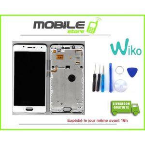 ECRAN DE TÉLÉPHONE VITRE TACTILE + ECRAN LCD + CHASSIS WIKO UFEEL 4G