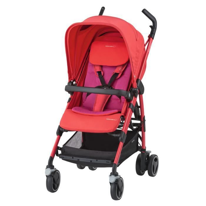 BEBE CONFORT Poussette Canne Dana - Red Orchid