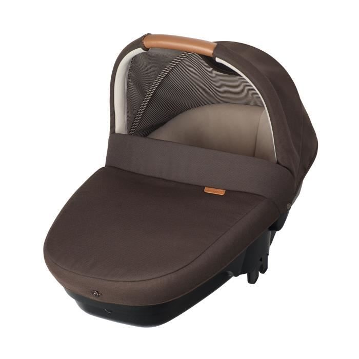 BEBE CONFORT Nacelle Amber sécurité auto Groupe 0 - Earth Brown