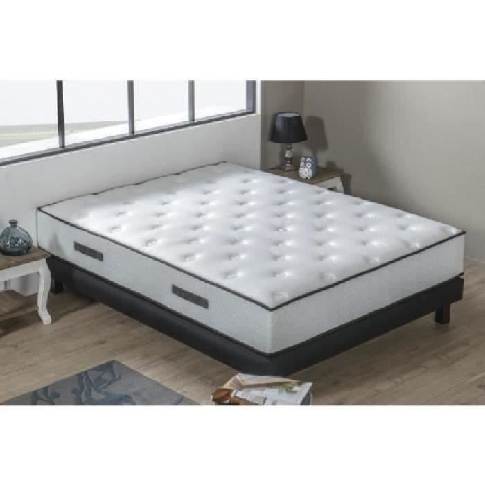 hotel prestige ensemble matelas sommiers 180x200 cm ressorts ferme 598 ressorts ensach s. Black Bedroom Furniture Sets. Home Design Ideas